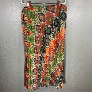 ✨3 for $20 NWT TRIBAL Crinkly Patterned Long Skirt